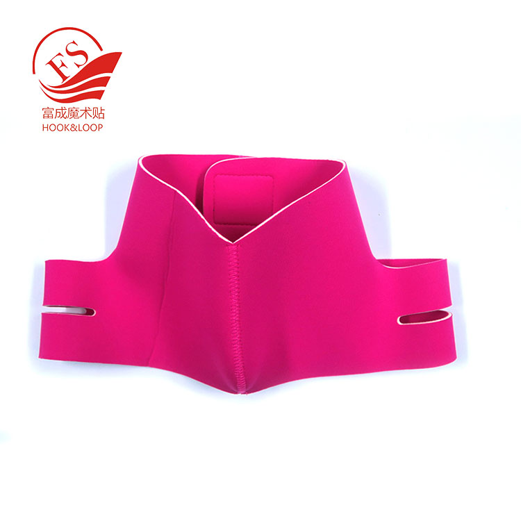 Adjustable  diving neoprene Thin Face Bandage Face Slimmer strap from shenzhen manufacturer
