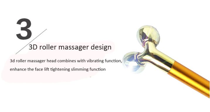Gezicht lifting massage 3D gezicht roller ball facial schoonheid massager