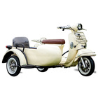 Three Wheel 1000w 1500w Tricycle sidecar Vespa Electric Scooter