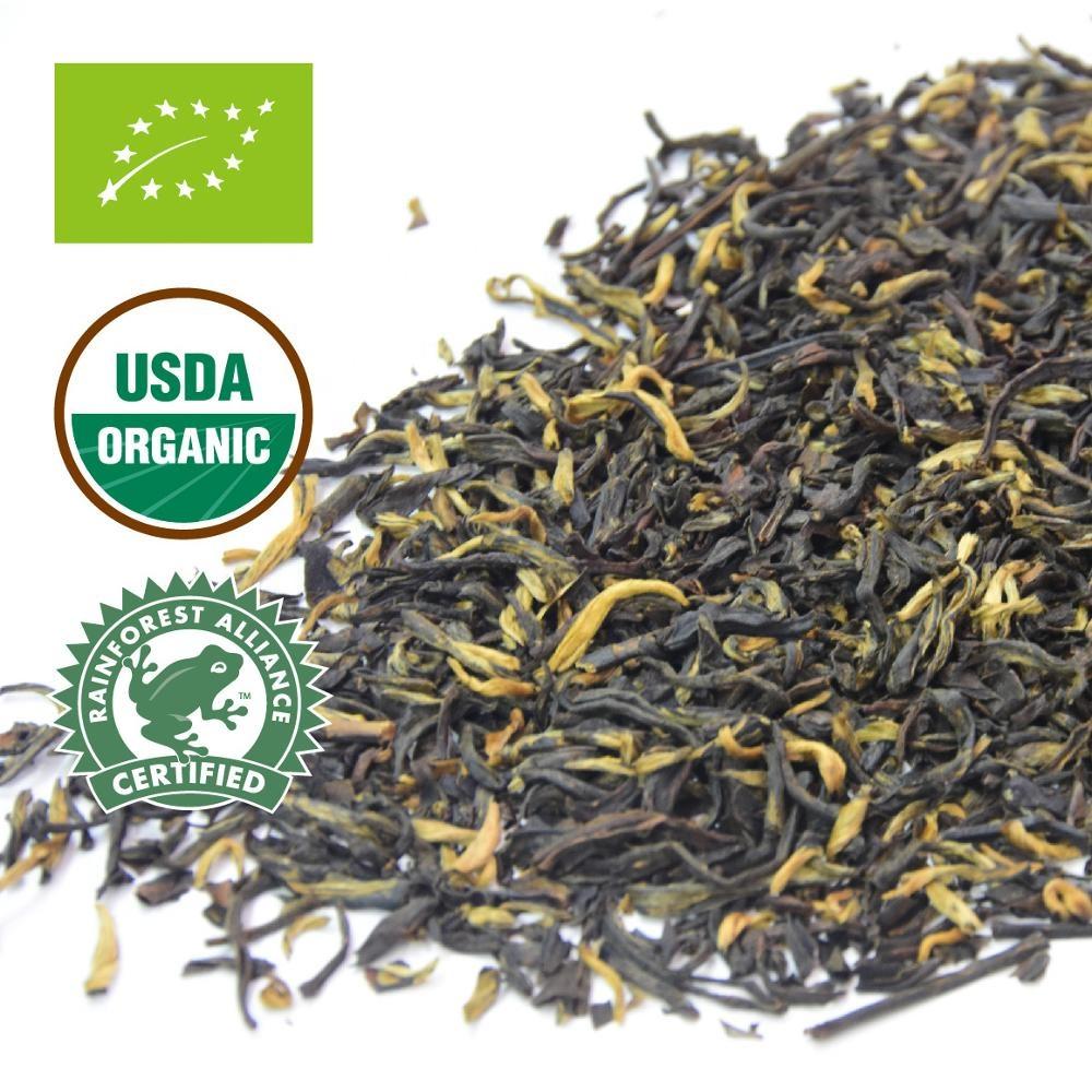 Organic Yunnan Black Tea famous golden bud wholesale - 4uTea | 4uTea.com