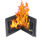 novelty magic trick wallet wholesale Rubber Bifold Funny Magic flame fire wallet for Stage Street Show Magician tools