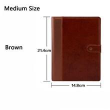 Винтажный блокнот, отлично подходит для рисования, блокнот, дневник для путешествий, записная книжка, дневник, черный, коричневый стиль, кни...(Китай)