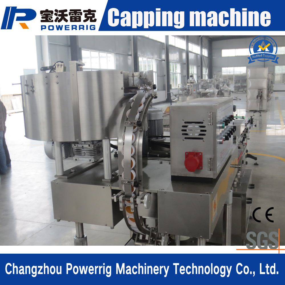 Widely Used Plastic Bottle 6 Wheels Capping Machine with Factory Price