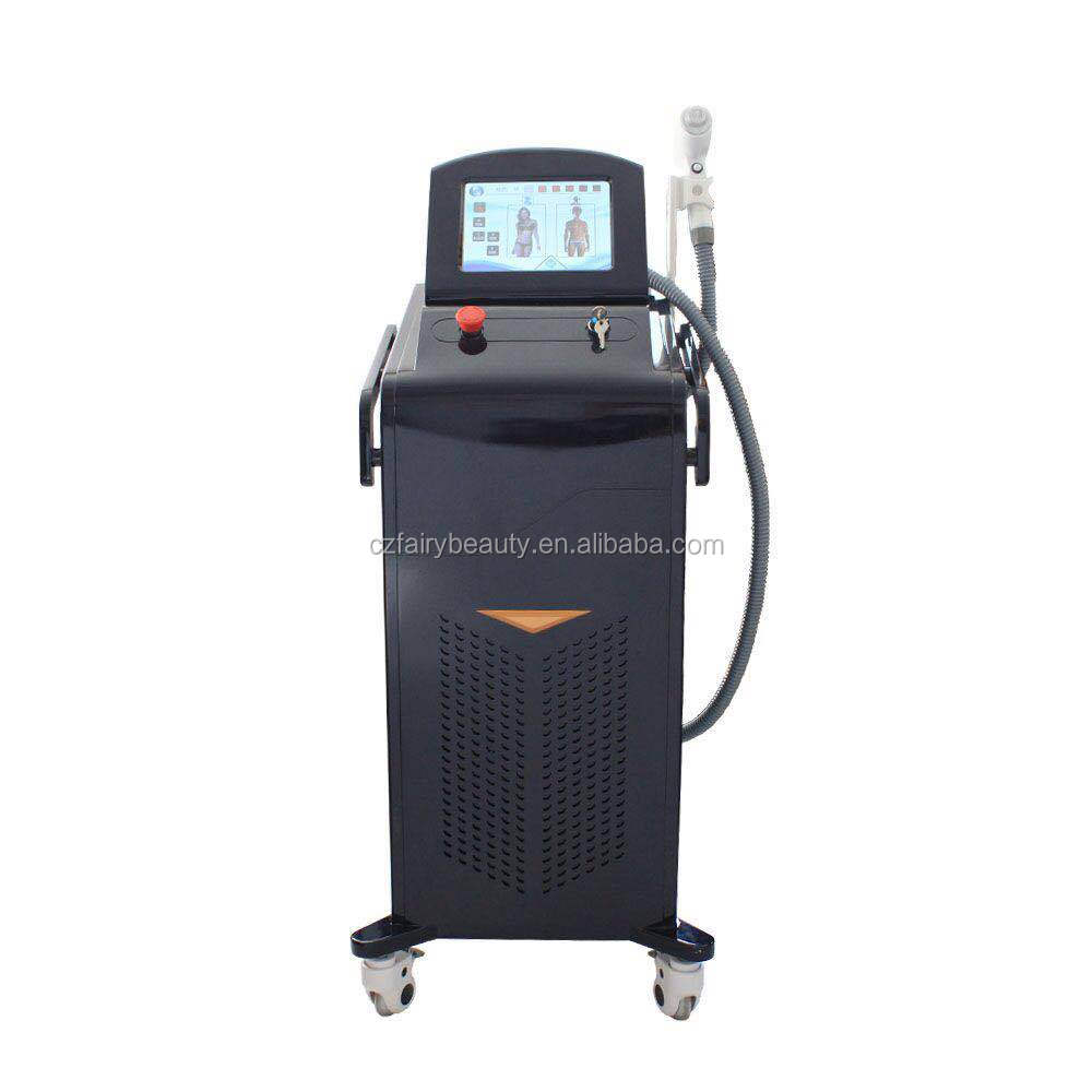 Factory diode laser hair removal with teaching video