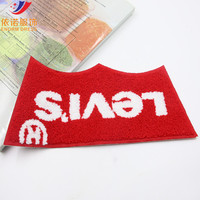 YINUO fashion new special red cloth paste patch accessories