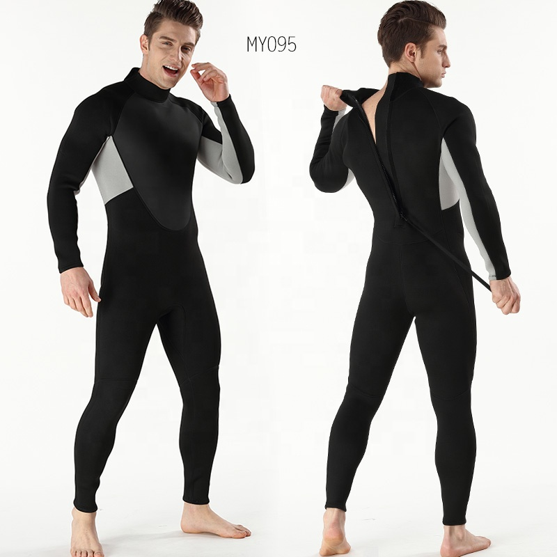 Mens swimwear plus size swimsuit wetsuit Swimming Surfing Wetsuits Hot Sale Full Suit Diving Neoprene custom low-mens swimsuit
