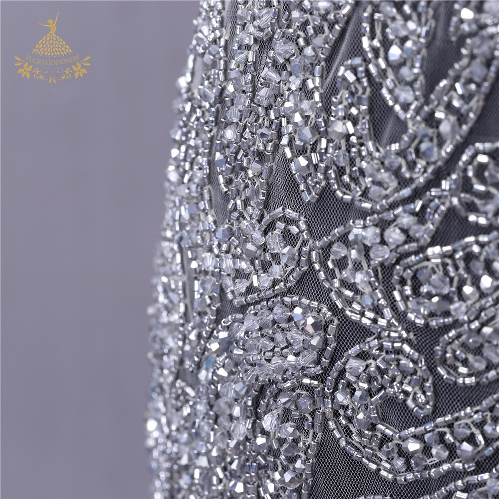 New Bridal Crytal bead stone Rhinestone Beaded dress Applique for Women's Wedding Evening Dress