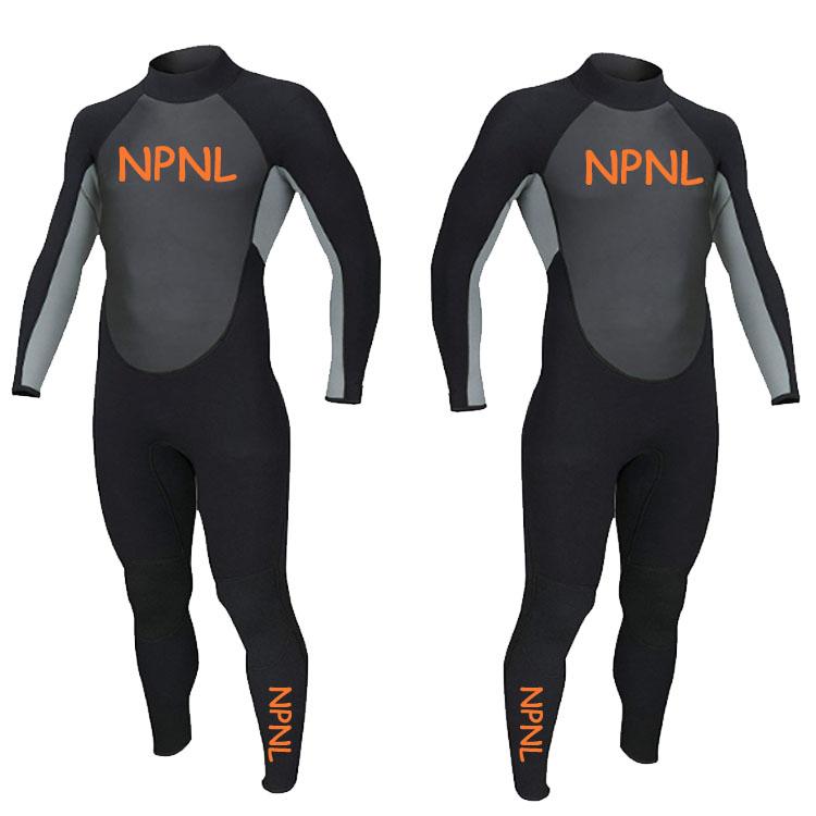 Высокое качество 3 мм Грудь молния черный гидрокостюм Профессиональный серфинг костюм на заказ Дайвинг костюм