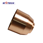 OEM New arrival Metal Copper Aluminum Garden plant metal Flower Pot Decoration