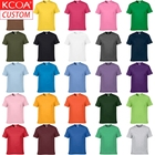 Short Tshirt Shirt Men T-shirt Cotton Short Sleeve Soft Custom Tshirt 100% Cotton Custom Printing Men T Shirt