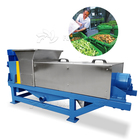 Customized spent tea press dewatering machine/potato peel dewatering press machine/lime peel dehydrator machine