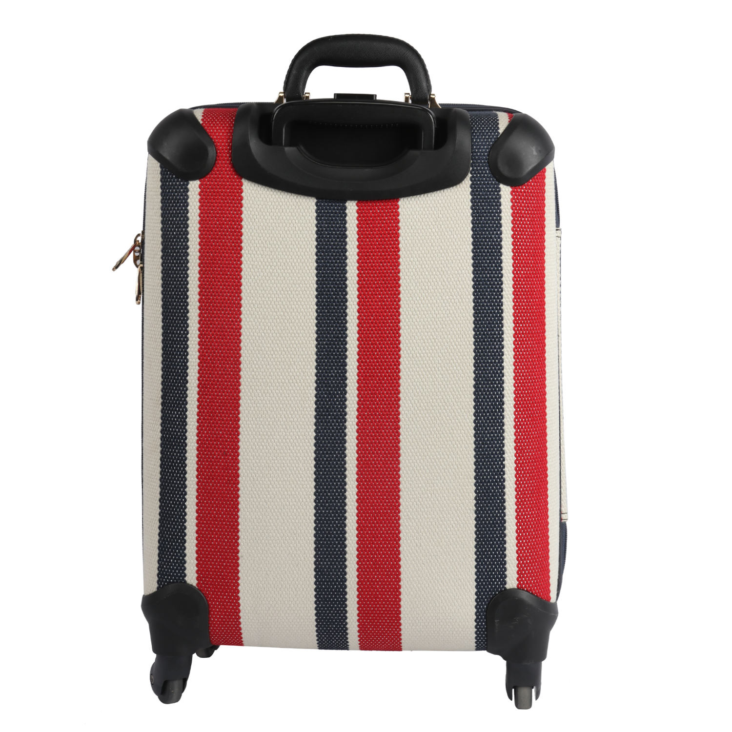 HIBO 2020 New arrival canvas soft shell women luggage trolley bag