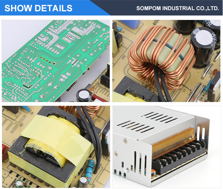LED Driver SMPS Switching AC DC 12V 30A 360W Power Supply