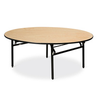 BT-012 Good Quality round table, Laminate Rectangular dining table, Hotel Wedding Event Party Folding Banquet Table