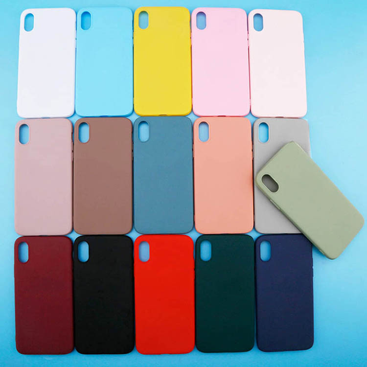 Hot Sale 1.5mm Soft TPU Case Silicone Candy Case for iPhone 8 ,Colorful Mobile Back Cover for iPhone 8 Case