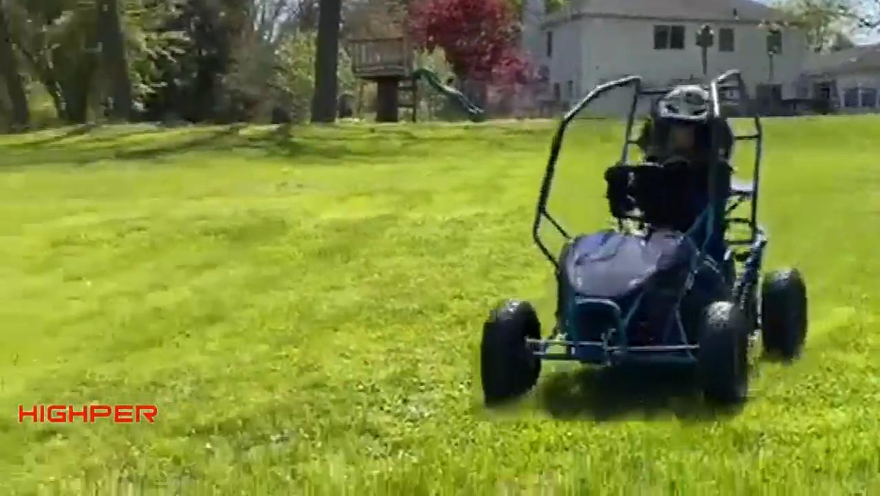 1000W 36V Kids Off Road Go Karts, 1 Zits Mini Buggy Speelgoed Elektrische Go Kart, mini Buggy