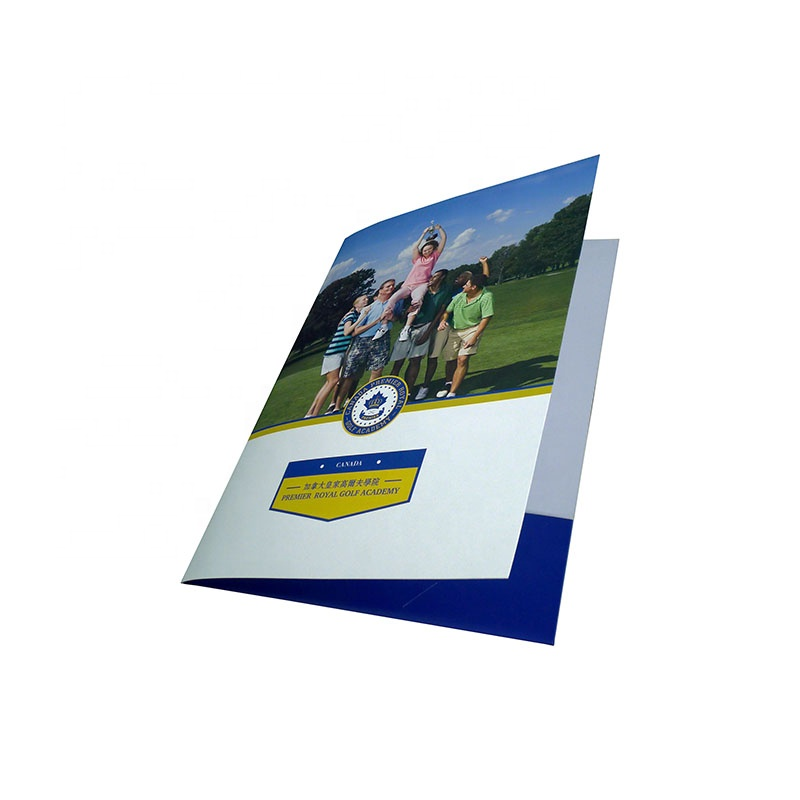 Zuoluo custom design a4 size file folder with quality paper