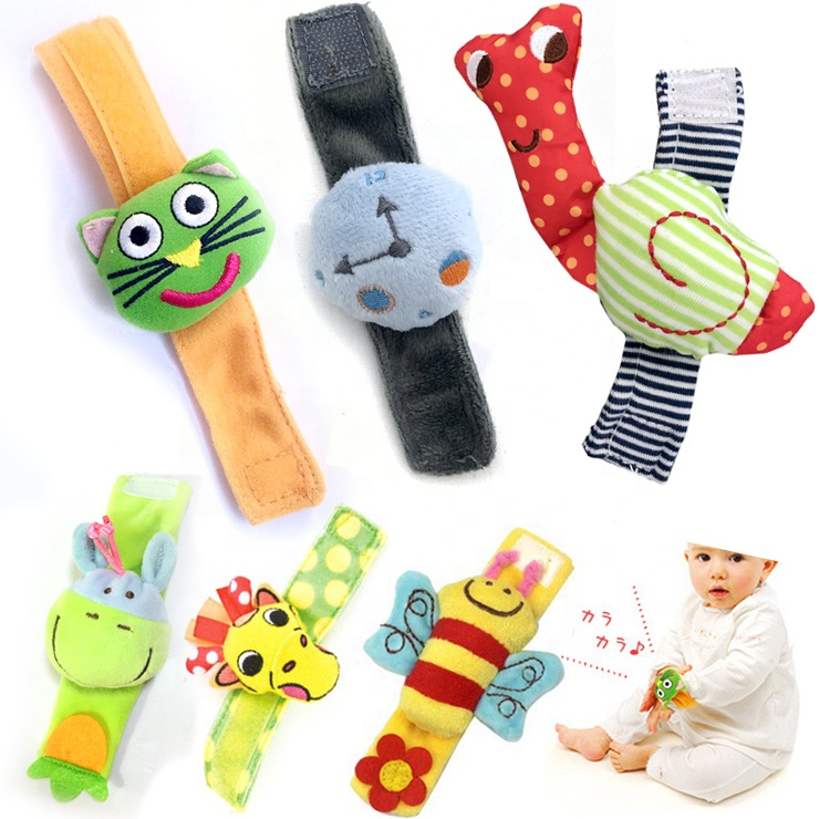 Lamaze wrist adorable rattle for baby's toy