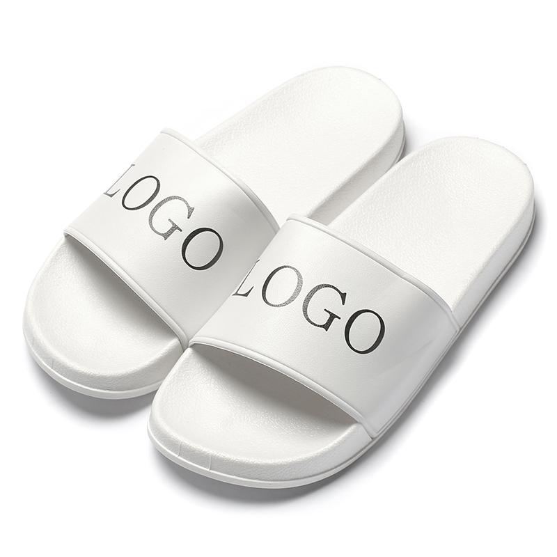 custom logo anti-skip slide pool slippers/ beach sandal/indoor shoes, slide sandal
