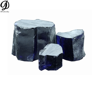 Wholesale raw gemstone uncut material cz tanzanite blue rough gemstone