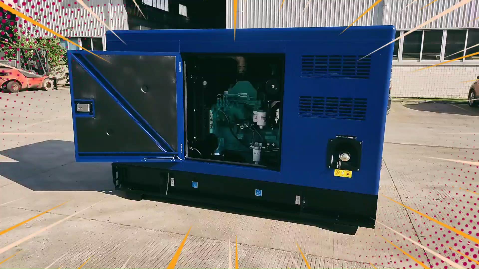 25KVA untuk 1250KVA Diam Diesel Generator Set Daftar Harga dengan Garansi Global
