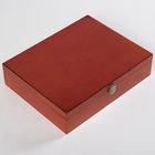 Manufacturers custom dampproof small wood tea boxes for household