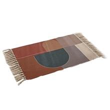 Напольный ковер в скандинавском стиле для гостиной, хлопковый льняной гобелен, моющиеся коврики для дверей, ковер с кисточками, прикроватны...(Китай)