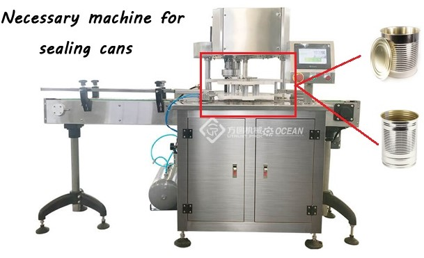 electric flanging machine for tin can