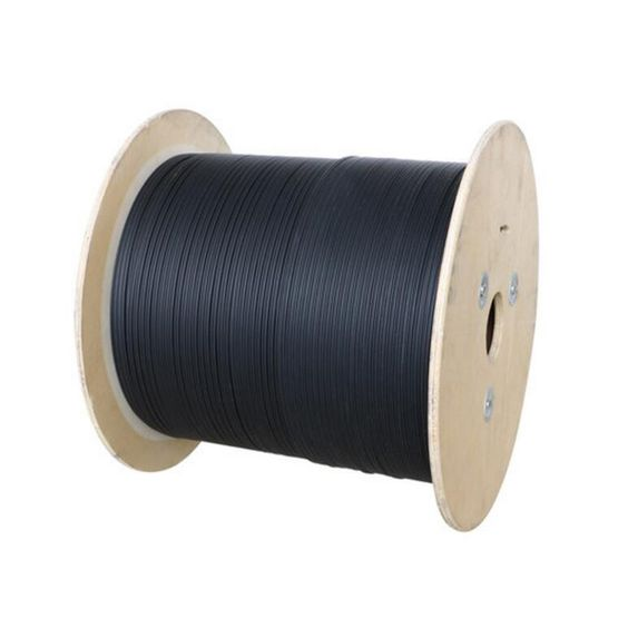 GJYXCH-1B6 G657A2 1 núcleo gota FTTH fibra óptica Cable con Messenger