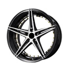 Factory Direct sales 19 inch 5-hole 5x112/114.3 car alloy wheel rims