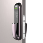 Zinc Alloy [ Biometric Fingerprint Lock Door ] Biometric Fingerprint Door Lock TENON A3 Biometric Fingerprint Scancer Lock Push-pull Automatic Smart Door Lock