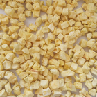 AD 10*10*10mm frist grade Dehydrated Apple granules dried red apple granules BRC, HACCP, ISO, KOSHER certifications