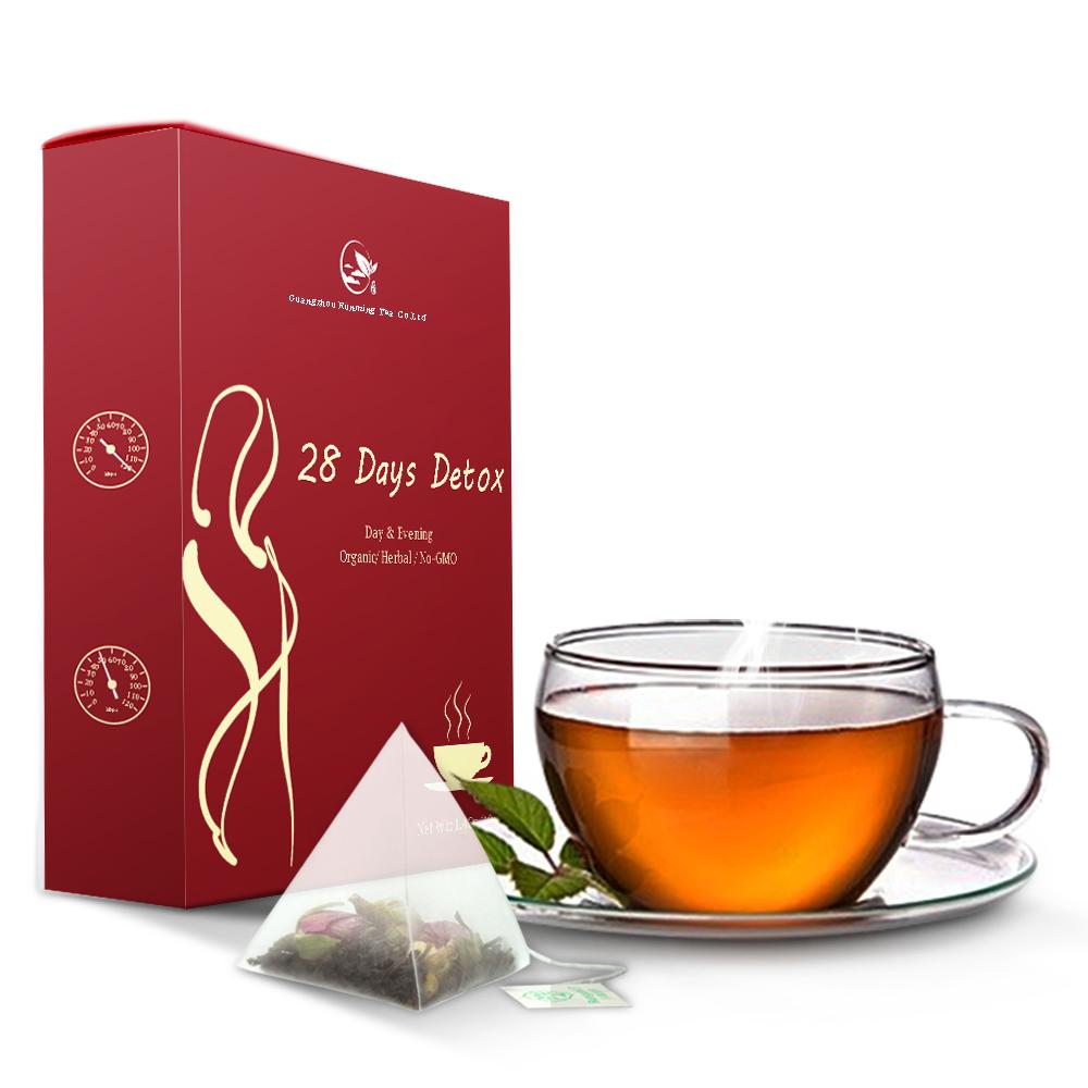 Private Label Skinny Herbal Te Fit Slim Green Weight Loss 28 Days Detox Slimming Tea - 4uTea | 4uTea.com