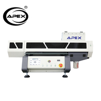 APEX Desktop UV Printer 40*60 Digital UV Led Flatbed Desktop Printer For Sale