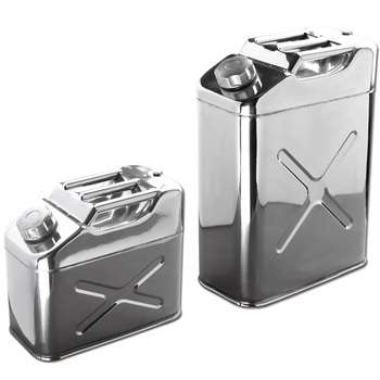 Stainless Steel Jerry Can Tank for Transporting and Storing Gasoline,Fuel and Water
