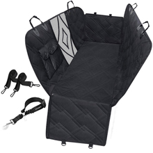 Antislip Waterdichte Hangmat Pet Dog Car <span class=keywords><strong>Seat</strong></span> <span class=keywords><strong>Cover</strong></span> Met Mesh Visuele Venster Opslag Pocket