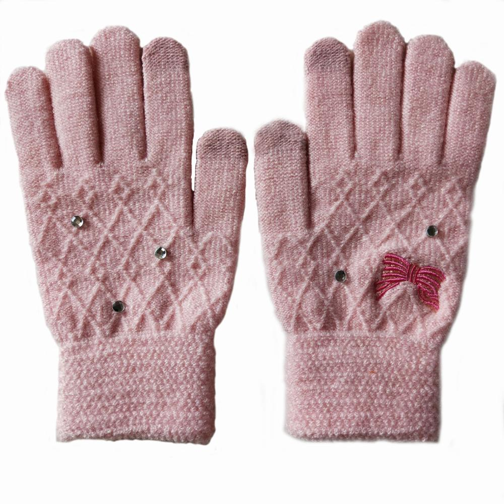 Factory Price Acrylic Work Knitted Gloves