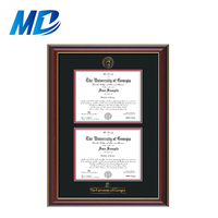 Double Certificate Photo Frame Container for Display 2019