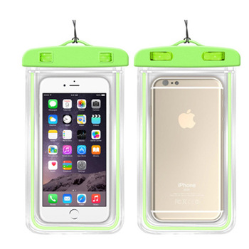 Waterproof Phone Pouch / Case , Waterproof Cell Phone Pouch Universal TPU Clear Water Proof Dry Beach Bag for Phone