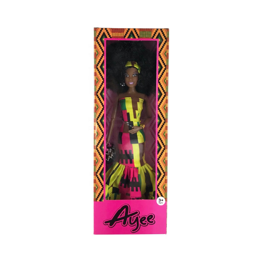 12.5 Inch Black Jointed <strong>Doll</strong> In Gift Box 12.5 &quot; Fashionistas <strong>Doll</strong> (African American) For sale
