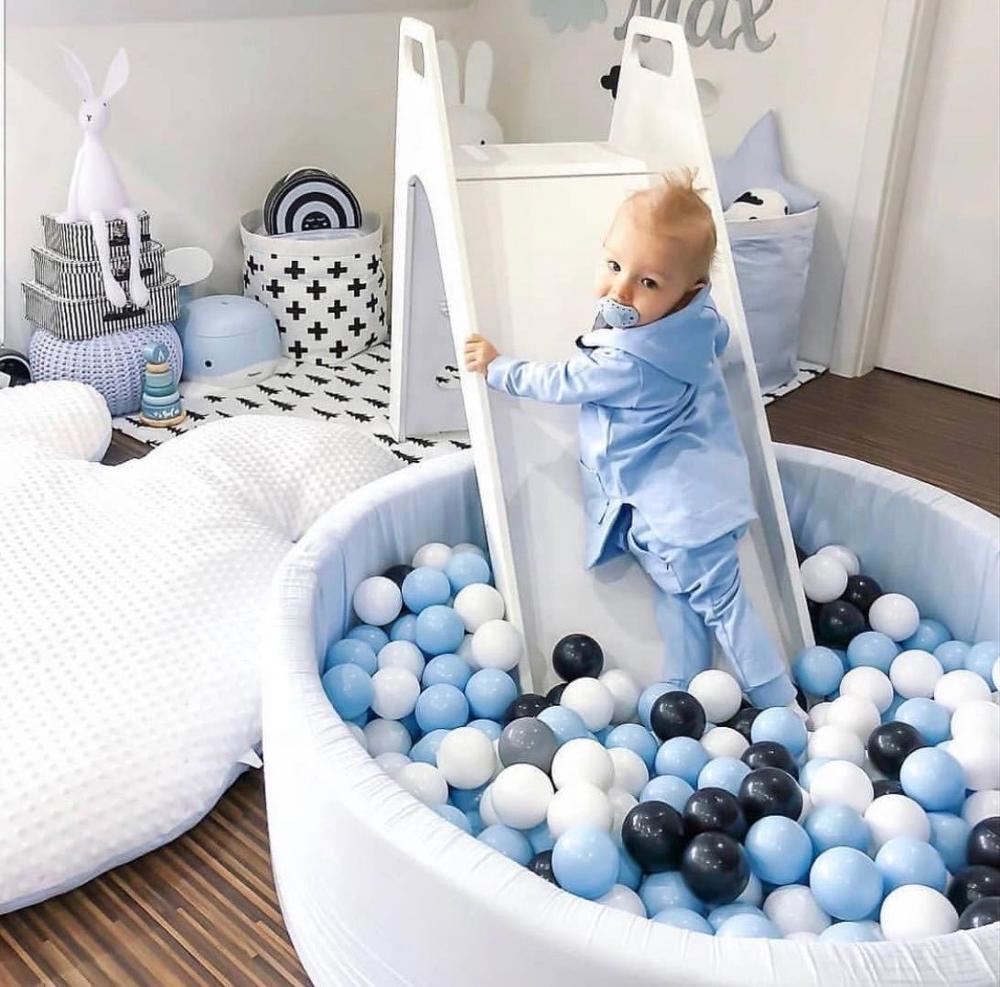 Ins Лидер продаж детские игрушки мяч яма высокое качество бархат кожи-дружелюбный детский шар яма бедный внутренний домашний декор сухой шар бедный