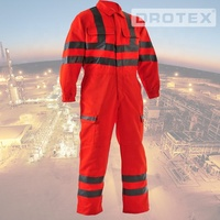 Industrial reflective men uniform work clothing manufacturing safety clothes fire oil resistant waterproof protective workwear