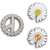 KPOP Fashion Enamel Brooch GD G Dragon Same Style Daisy Brooches Couple Gift Pin Personality Lightning Daisy Pins Badge