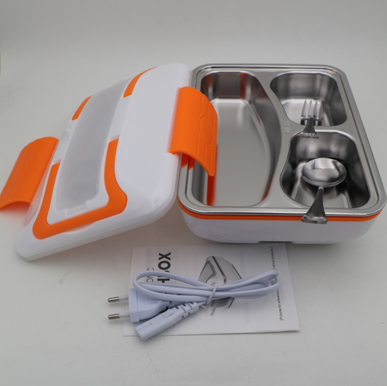Hot selling electric plastic dinner bucket lunch box heat keep