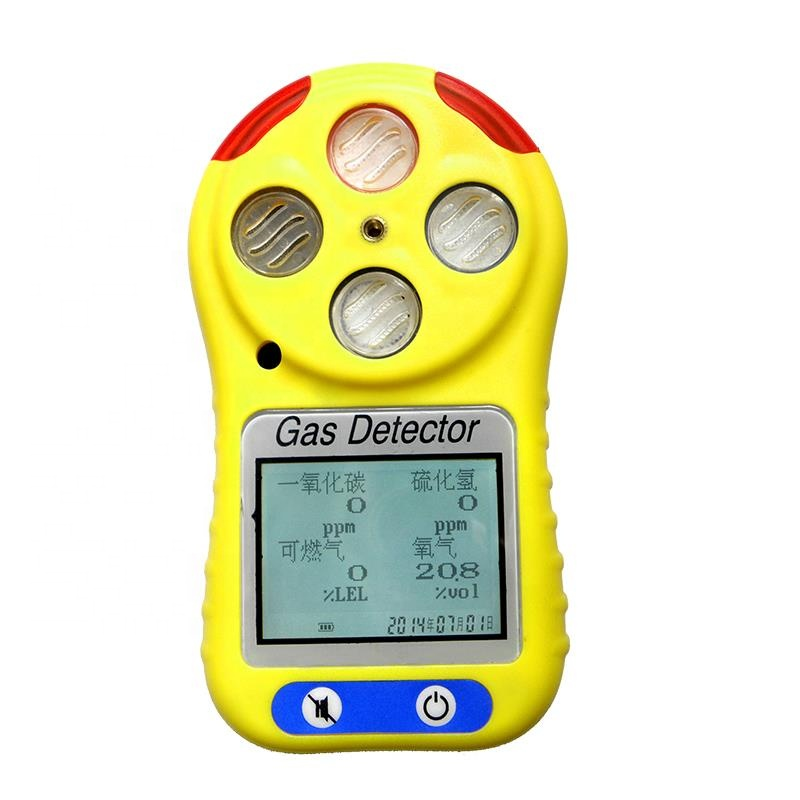 Handheld Usb Portable Tester Meter Monitor Sensor Detector Gas Analyzer For Sewer Ch4 Methane Carbon Monoxide Co O2 Co2 And H2S