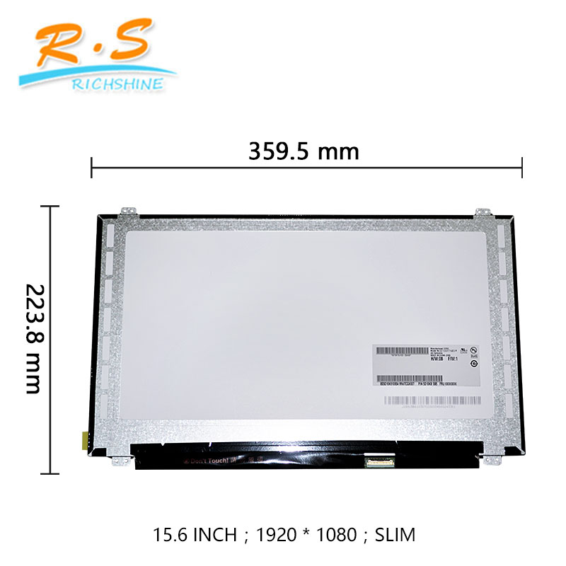 15,6 zoll led-panel lcd display tft monitor ersatz mit touch notbook bildschirm