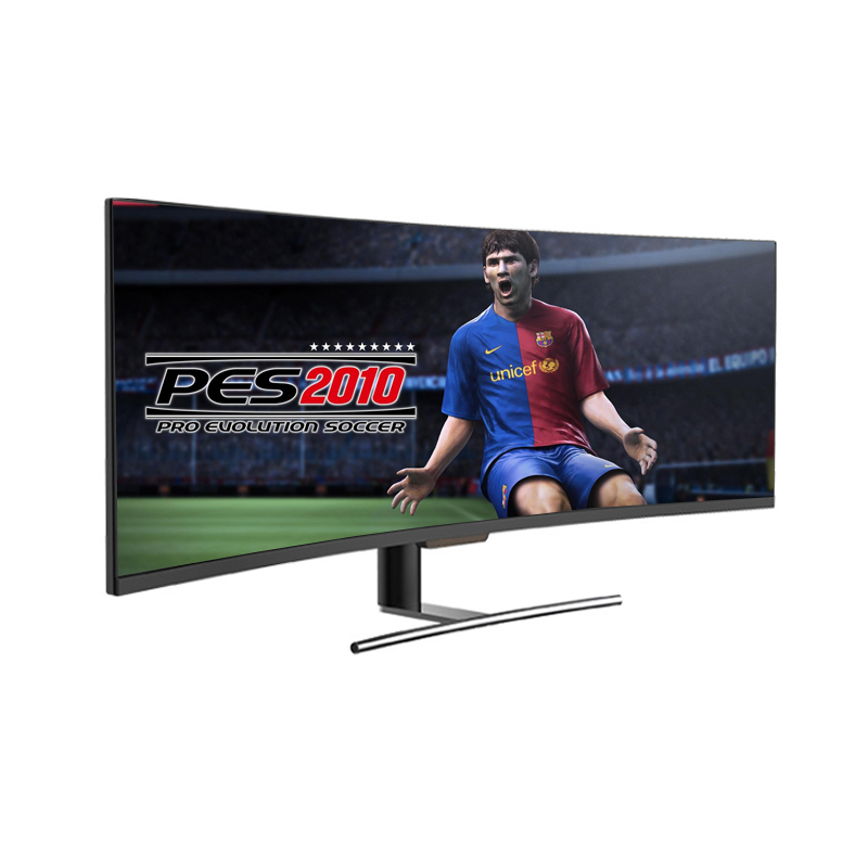 lcd high resolution monitor 49 inch curved 1080p 144hz freesync monitor