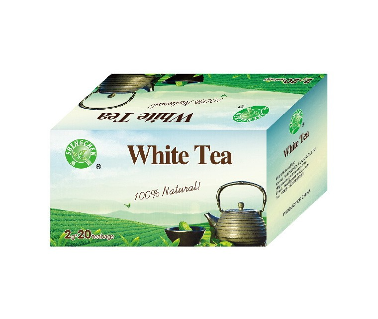 White tea bag healthy Chinese tea / made in China high quality 2g*20 bags /box white tea bags ,High quality white tea from China - 4uTea | 4uTea.com