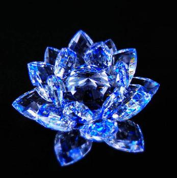 Brillant K9 Bleu Fleur De Lotus En Cristal Pour Cadeaux De Mariage - Buy  Bleu Fleur De Lotus En Cristal,Cristal Bleu Fleur De Lotus,Bleu Cristal  Fleur De Lotus Product on Alibaba.com