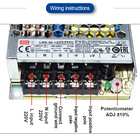 Power 350W 12V 29A Single Output Meanwell Switching Power Supply LRS-350-12 For PLC Module